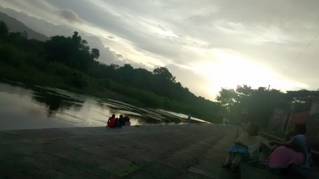 The Ghat of Wai