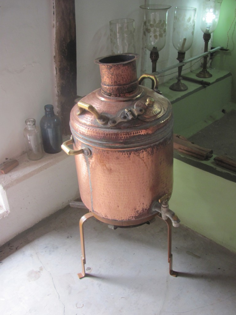 An old water heater