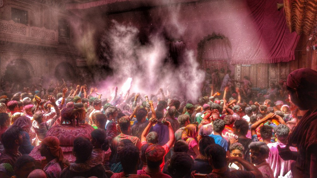 Celebrating Holi in Mathura and Vrindavan