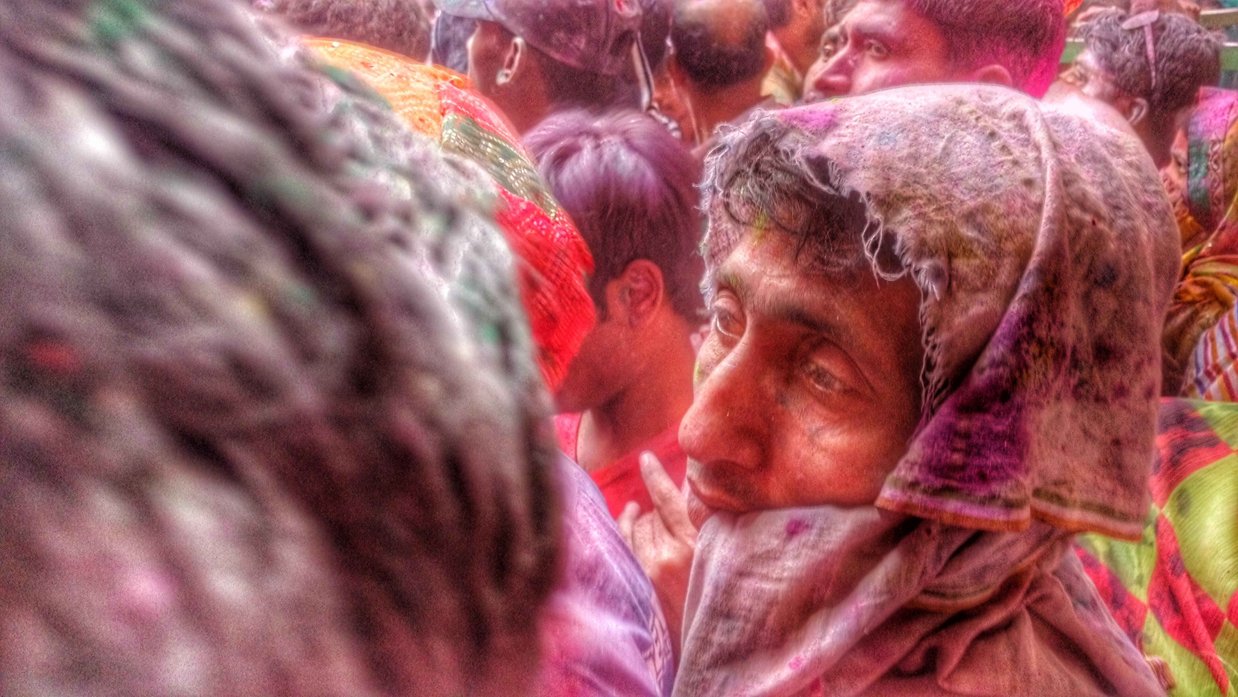 Holi in Mathura and Vrindavan