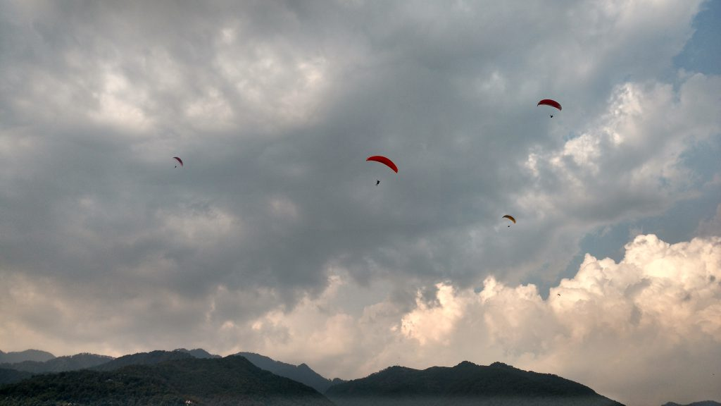 Paragliding in Billing