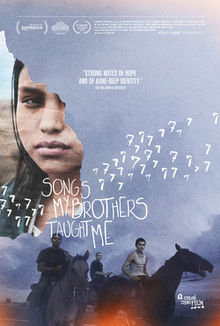 A poster of the film Songs My Brother Taught Me